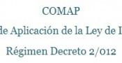Régimen Decreto 2/012